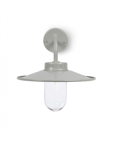 Kinkiet Swan Neck Light - Flint