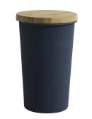 Pojemnik bambusowy z przykrywką