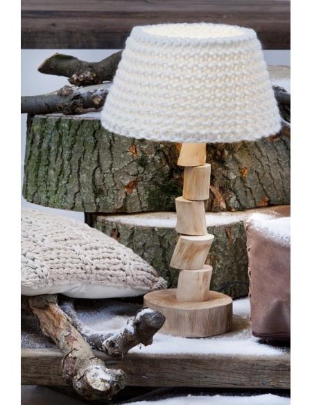 Lampa stojąca Wood