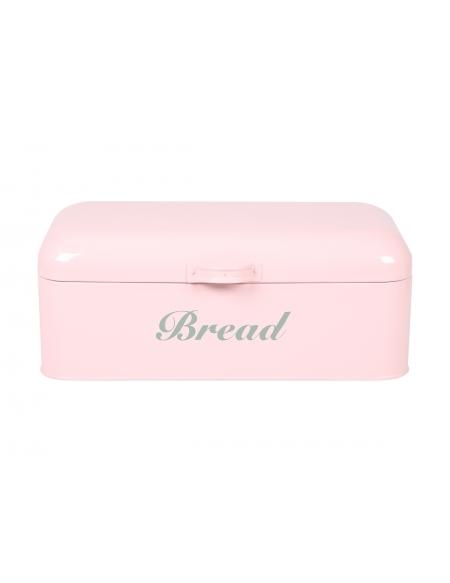 Pojemnik na chleb - pastelowy róż