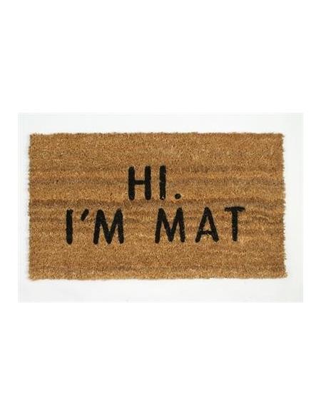 Wycieraczka Hi I'm Mat