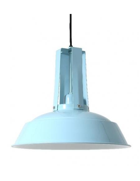 Lampa wisząca Loft S - niebieska