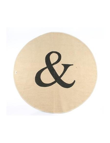 """Dywanik okrągły """"&"""""""