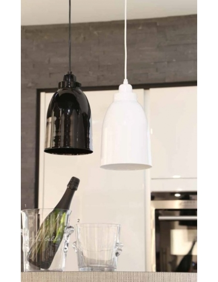 Lampa wisząca Yara biała