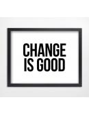 Plakat Change
