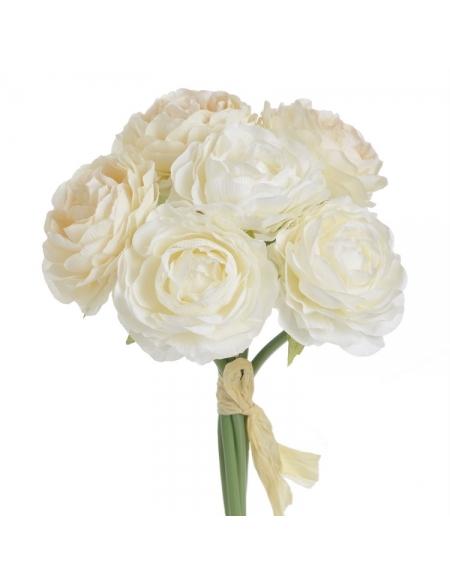 Bukiet Róża biało-kremowa