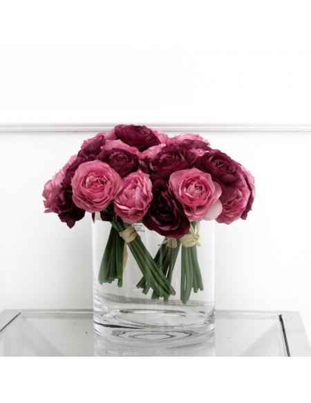 Bukiet Ranunculus Fioletowo-Różowa