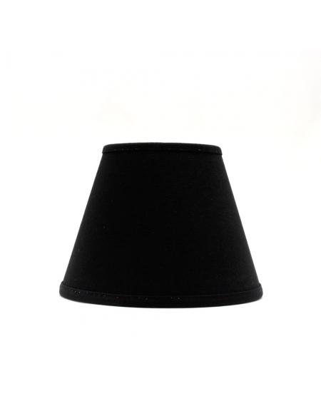 Abażur 16 cm stożek czarny