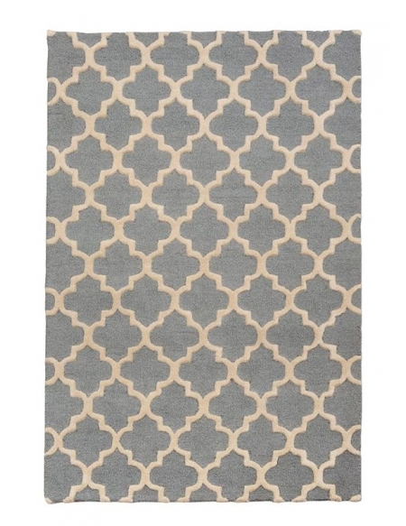 Dywan Moroccan Trellis Grey