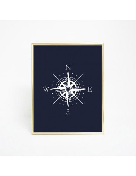 Plakat Kompas