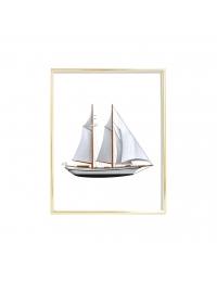 Plakat Sail Boat