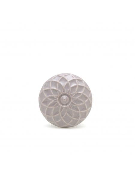 Gałka do mebli Flower Grey