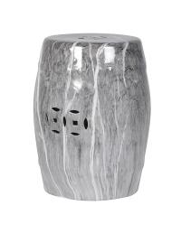 Stołek ceramiczny Grey Marble