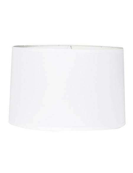 Abażur do lampy podłogowej 43 cm biały