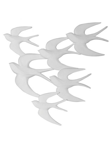 Dekoracja ścienna klucz ptakow