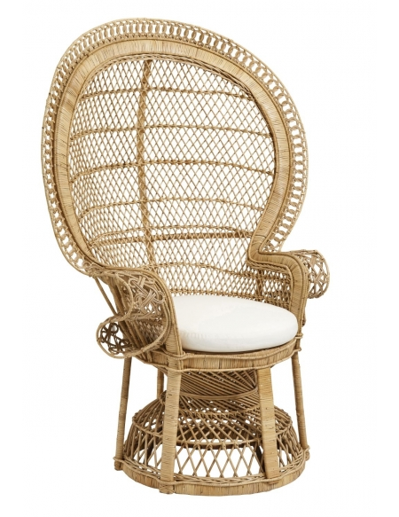 Fotel rattanowy Paw