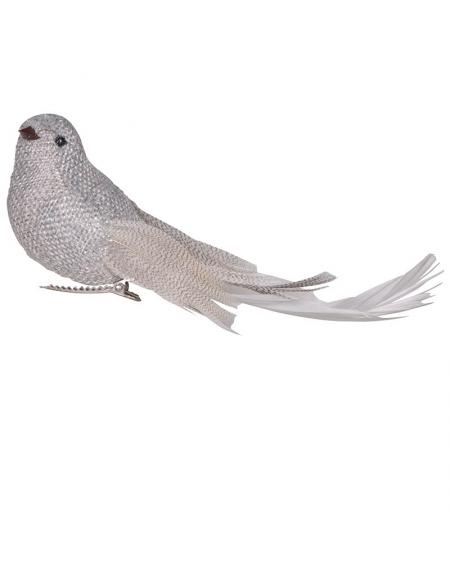Dekoracyjny ptaszek na klipsie