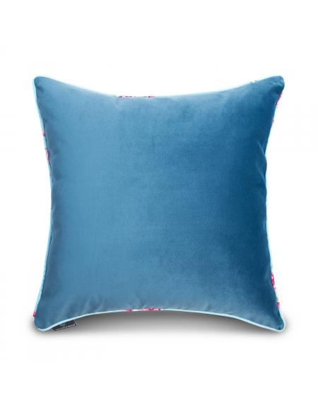 Poszewka dekoracyjna na poduszkę - niebieska