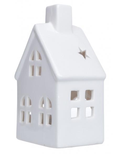 Świecznik domek średni