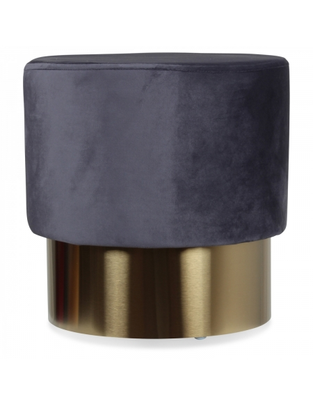 Stołek Velvet Grey