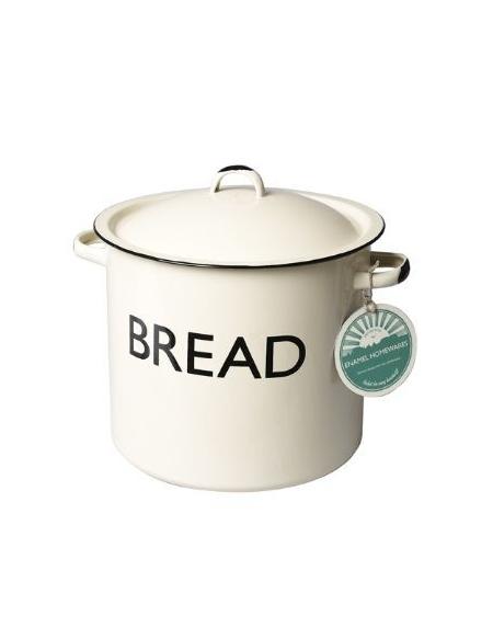 Pojemnik na chleb - kremowy
