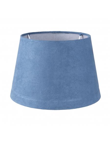 Abażur klasyczny niebieski 20 cm