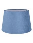 Abażur klasyczny niebieski 25 cm