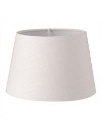Abażur klasyczny biały 20 cm