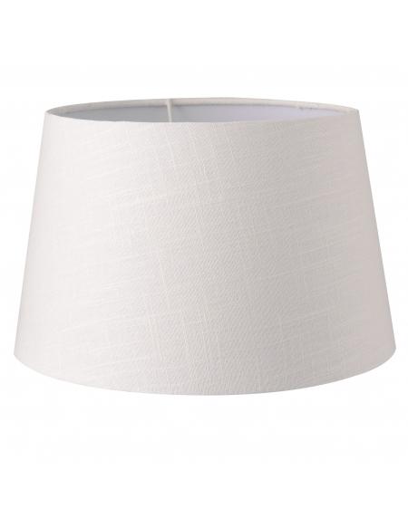 Abażur klasyczny biały 25 cm