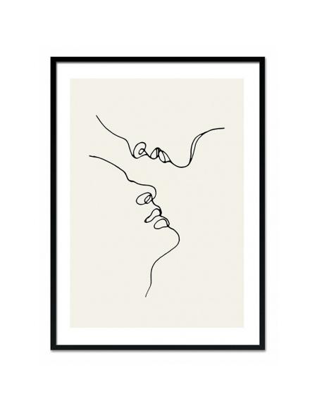 Grafika Pocałunek 1 53x73 cm