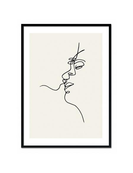 Grafika Pocałunek 2