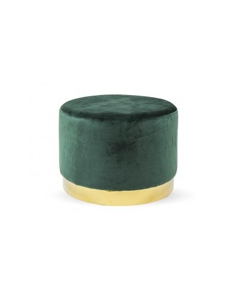 Puf Zielony M