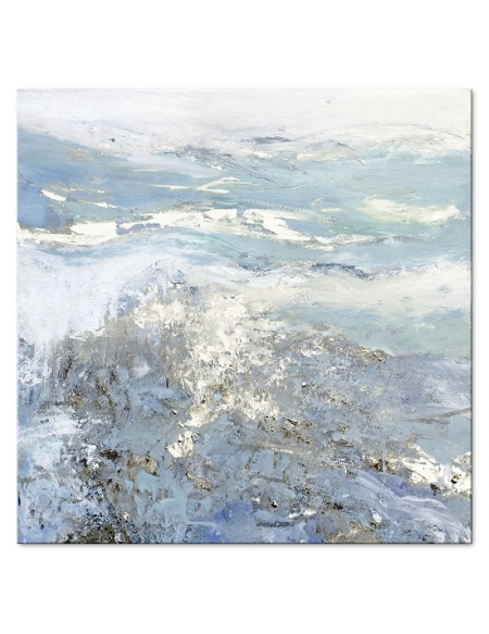 Obraz Abstrakcja Blue 90x90