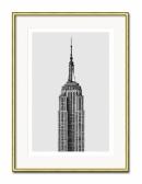 Grafika Empire State Building