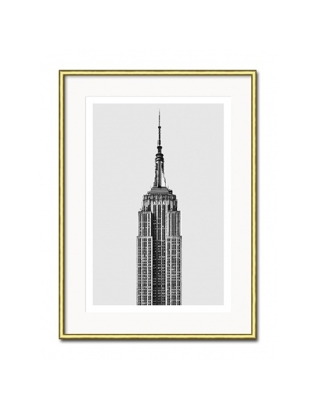 Grafika Empire State Building 31x41 cm