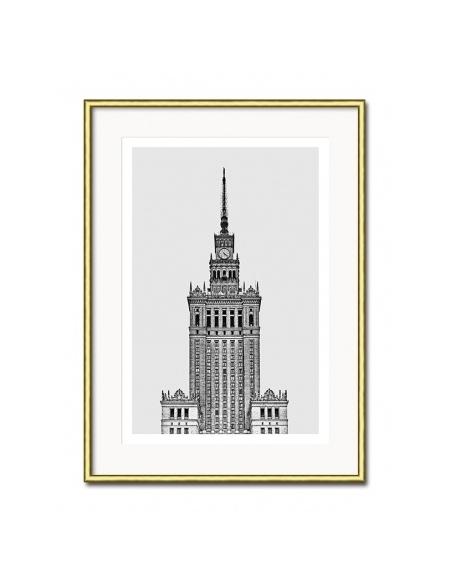 Grafika Pałac Kultury