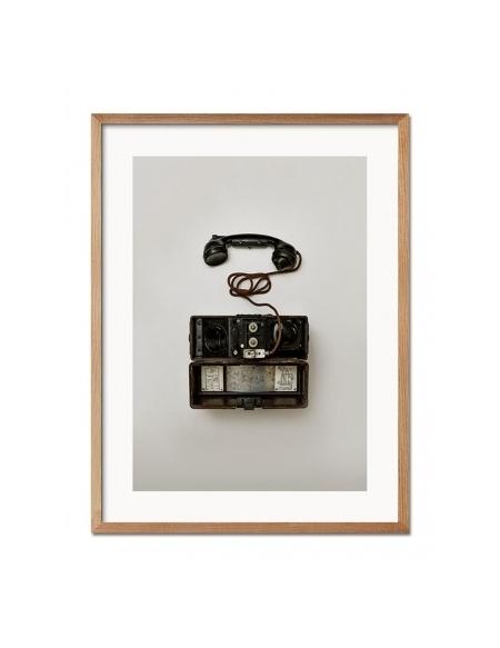 Grafika Retro Telefon 33x43 cm