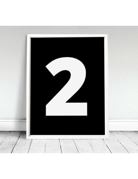 "Plakat ""Two"""