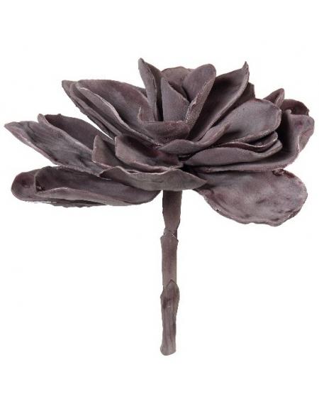 Dekoracyjny kwiat - ciemny fiolet