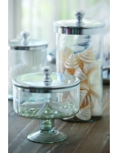 Szklane naczynie z pokrywką